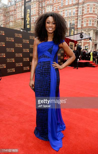 Beverley Knight attends The Olivier Awards with Mastercard at the Royal Albert Hall on April 07 2019 in London England