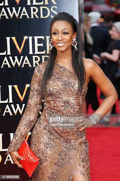 Beverley Knight attends The Olivier Awards with Mastercard at The Royal Opera House on April 3 2016 in London England