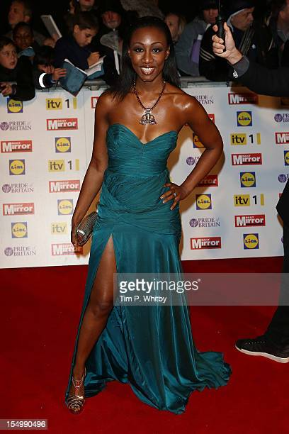 Beverley Knight attends the Pride Of Britain awards at the Grosvenor House Hotel on October 29 2012 in London England