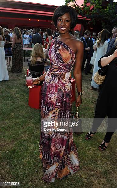Beverley Knight attends The Serpentine Gallery Summer Party on July 8 2010 in London England