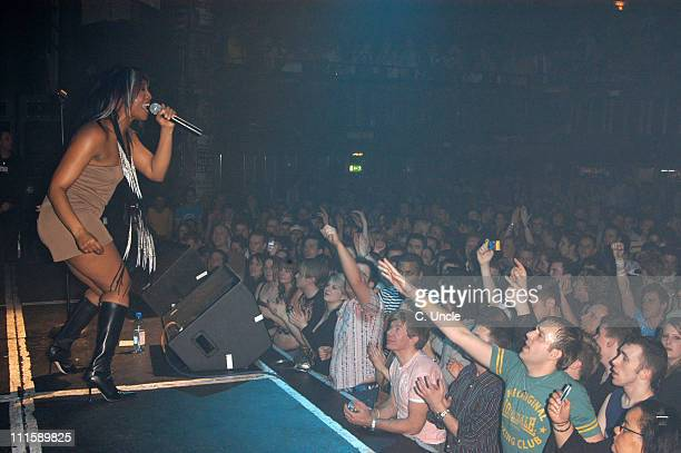 Beverley Knight during Beverley Knight in Concert March 12 2005 at GAY in London Great Britain