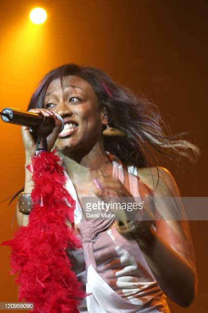 Beverley Knight during Beverley Knight performs at The Summer Pops July 7 2005 at Big Top Arena in Liverpool Great Britain