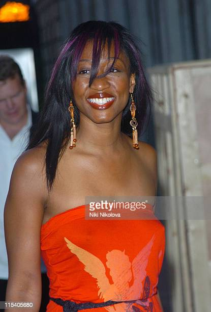 Beverley Knight during 'Charlie and the Chocolate Factory' London Premiere After Party at The Old Billingsgate Fish Market in London Great Britain