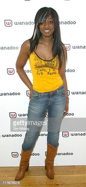 Beverley Knight during Freeserve Changes Its Name to Wanadoo Launch Party at The Scala Kings Cross in London United Kingdom