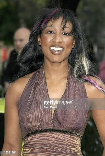 Beverley Knight during 'Gumball 3000 6 Days In May' DVD Premiere and 2005 Rally Launch Party at Victoria House in London Great Britain