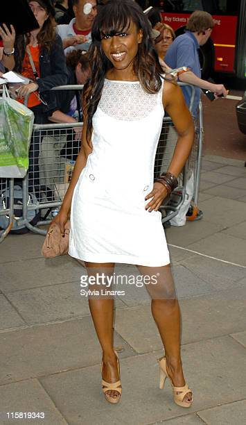 Beverley Knight during Ivor Novello Awards – Outside Arrivals at Grosvenor House in London Great Britain