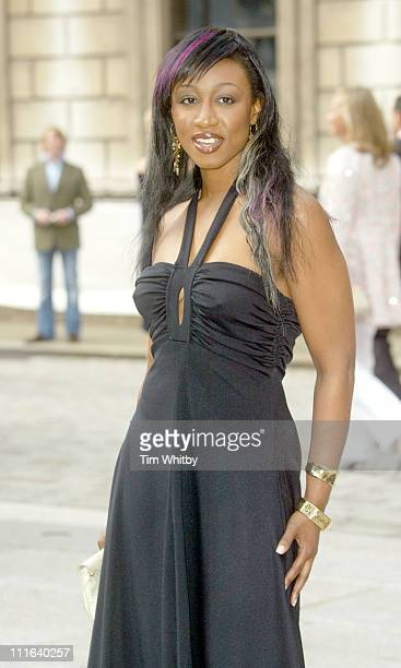 Beverley Knight during Royal Academy of Arts Summer Exhibition 2005 at Royal Academy Of Arts in London Great Britain