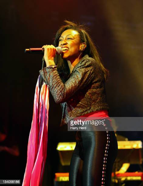 Beverley Knight performs at Salisbury City Hall on November 24 2011 in London England