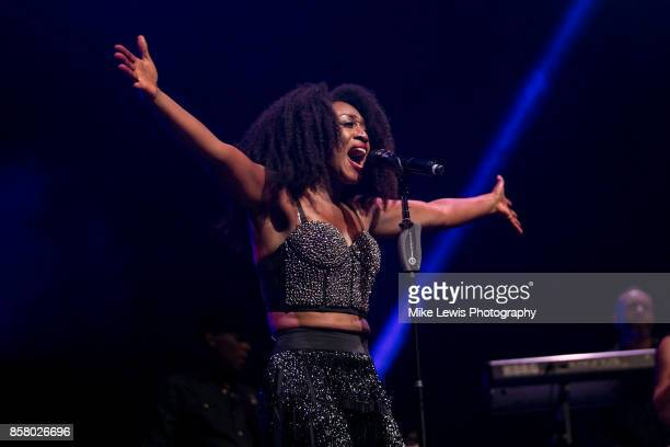 Beverley Knight performs at St David's Hall on October 5 2017 in Cardiff Wales