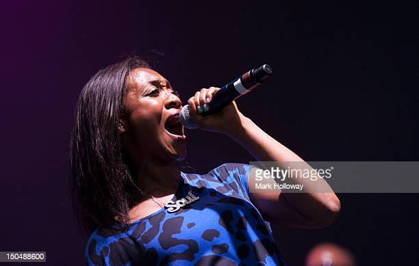 Beverley Knight performs on stage during V Festival on August 19 2012 in Chelmsford United Kingdom
