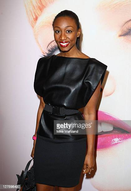 Beverley Knight seen in the front row at the Bora Aksu show during London Fashion Week Autumn/Winter 2011 on February 18 2011 in London England