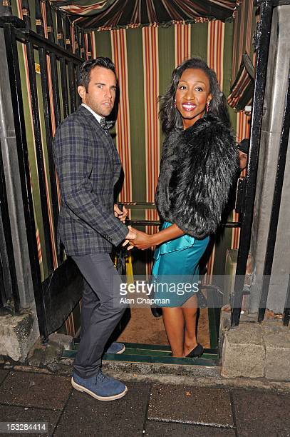 Beverley Knight sighting at Annabels on October 2 2012 in London England