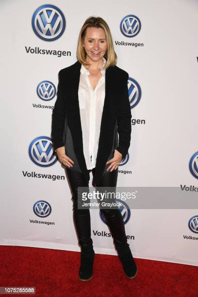 Beverley Mitchell attends the Volkswagen DriveIn Event at Goya Studios on November 30 2018 in Los Angeles California