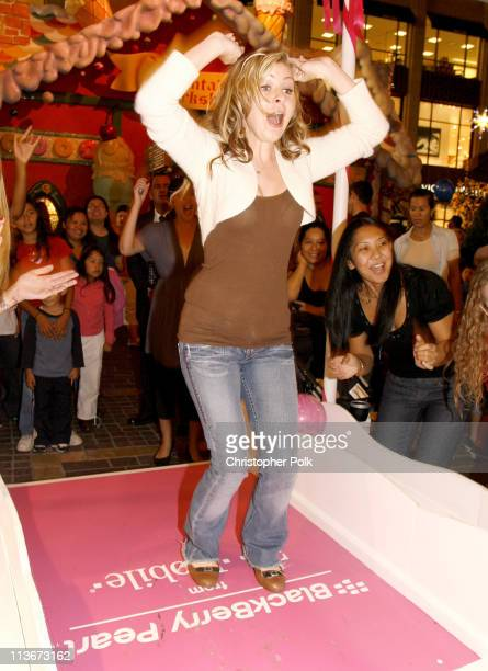 Beverley Mitchell during BlackBerry Pearl TMobile Holiday Charity Bowling Make A Wish of Los Angeles November 19 2006 at The Grove in West Hollywood...