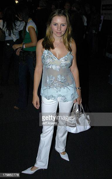 Beverley Mitchell during Rock The Vote 2004 National Bus Tour Concert June 16 2004 at Avalon in Hollywood California United States
