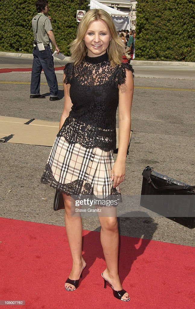 Beverley Mitchell during The 2002 Teen Choice Awards - Arrivals at The Universal Amphitheatre in Universal City, California, United States.