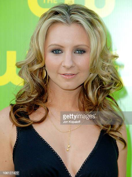 Beverley Mitchell during The CW Launch Party Arrivals at WB Main Lot in Burbank California United States