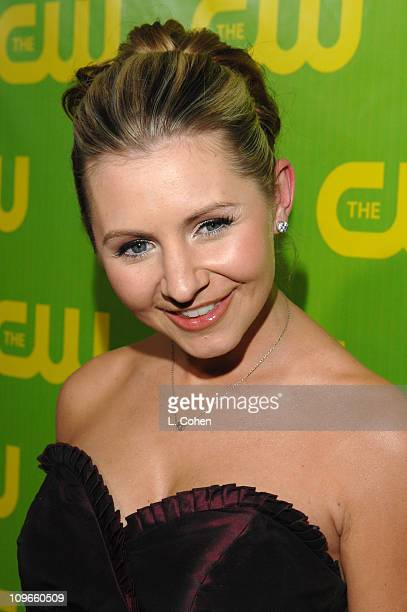 Beverley Mitchell during The CW Winter 2007 TCA Press Tour Party Green Carpet and Inside at Ritz Carlton in Pasadena California United States