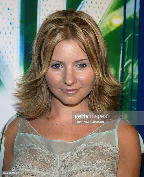 Beverley Mitchell during The WB Network's 2002 Summer Party at Renaissance Hollywood Hotel in Hollywood California United States