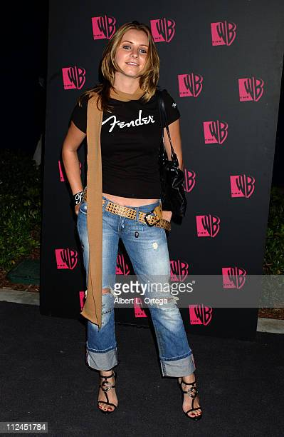 Beverley Mitchell during The WB Network's 2004 All Star Summer Party Arrivals at The Lounge at Astra West in Los Angeles California United States