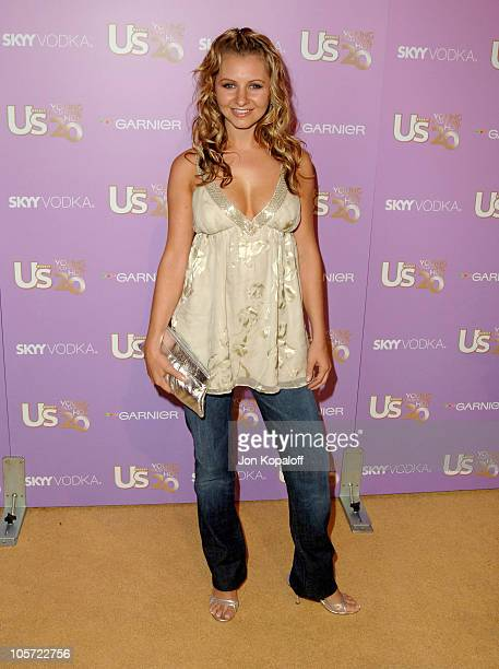 Beverley Mitchell during US Weekly's Young Hollywood Hot 20 September 16 2005 at LAX in Hollywood California United States