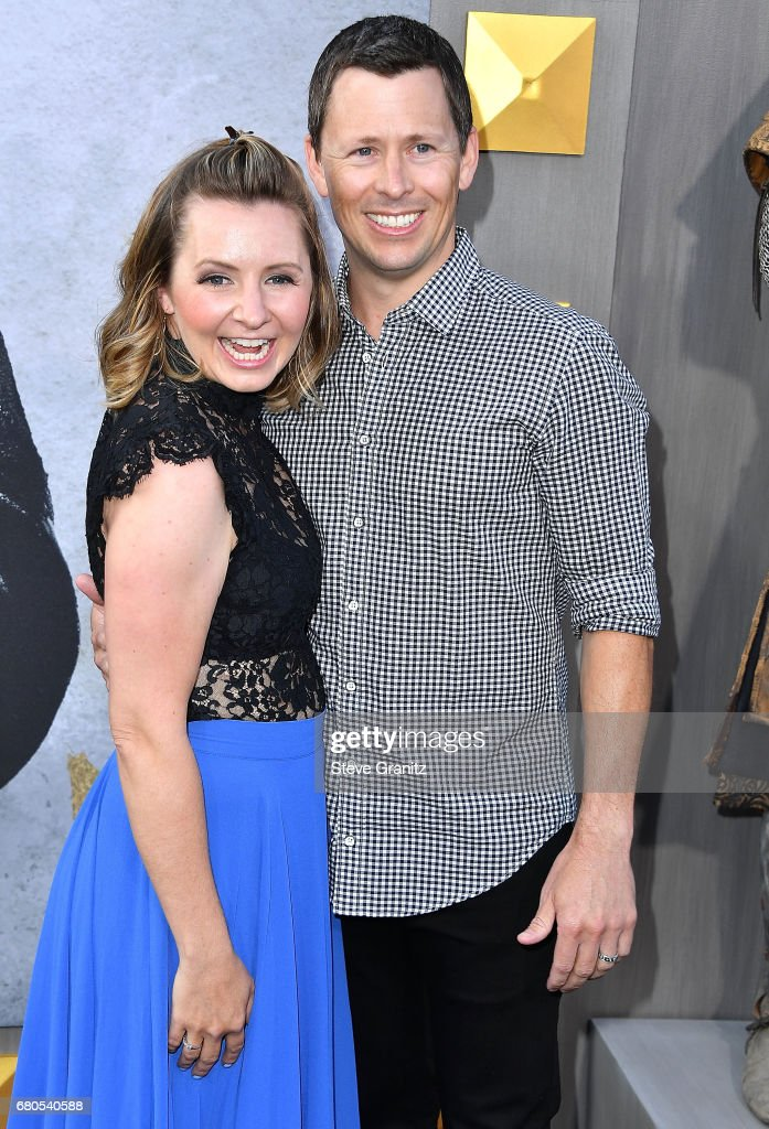 Beverley Mitchell, Michael Cameron arrives at the Premiere Of Warner Bros. Pictures' 'King Arthur: Legend Of The Sword' at TCL Chinese Theatre on May 8, 2017 in Hollywood, California.