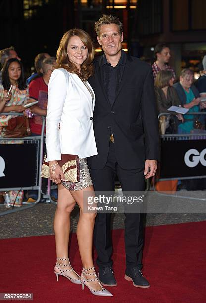 Beverley Turner and James Cracknell arrive for the GQ Men Of The Year Awards 2016 at Tate Modern on September 6 2016 in London England