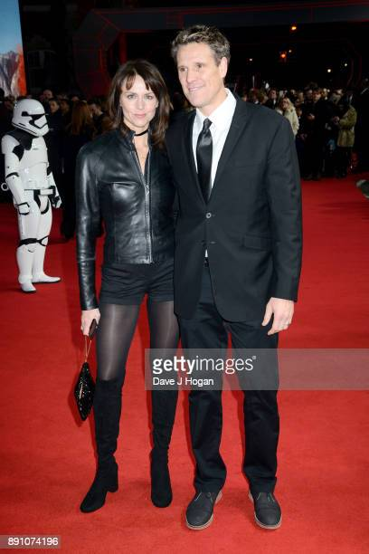 Beverley Turner and James Cracknell attend the European Premiere of 'Star Wars The Last Jedi' at Royal Albert Hall on December 12 2017 in London...