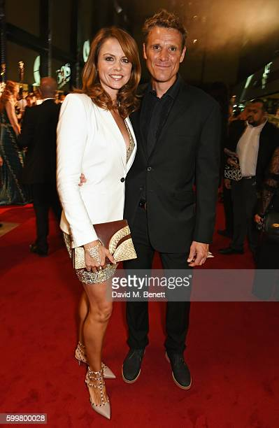 Beverley Turner and James Cracknell attend the GQ Men Of The Year Awards 2016 at the Tate Modern on September 6, 2016 in London, England.