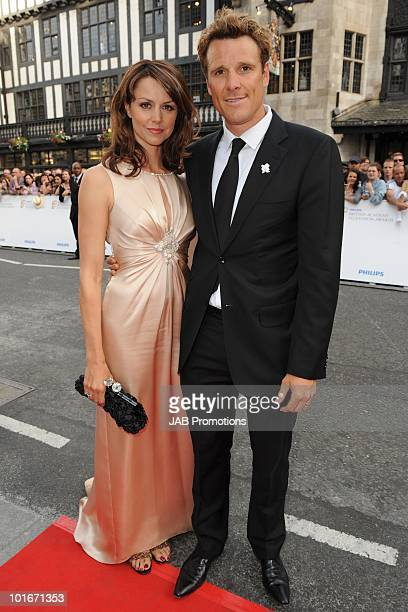 Beverley Turner and James Cracknell attend the Philips British Academy Television awards at London Palladium on June 6, 2010 in London, England.