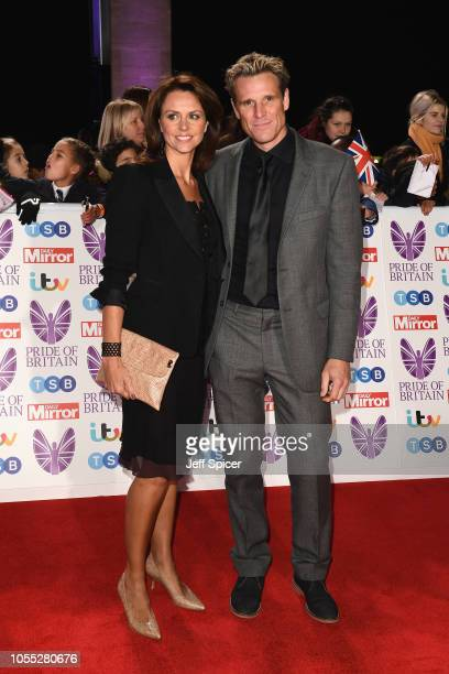Beverley Turner and James Cracknell attend the Pride of Britain Awards 2018 at The Grosvenor House Hotel on October 29 2018 in London England