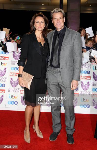 Beverley Turner and James Cracknell attend the Pride of Britain Awards 2018 at The Grosvenor House Hotel on October 29, 2018 in London, England.