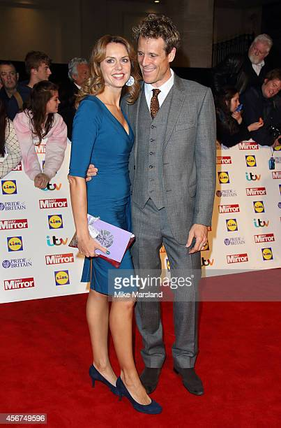 Beverley Turner and James Cracknell attend the Pride of Britain awards at The Grosvenor House Hotel on October 6 2014 in London England