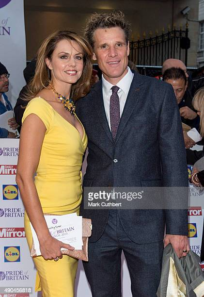 Beverley Turner and James Cracknell attend the Pride of Britain awards at The Grosvenor House Hotel on September 28 2015 in London England