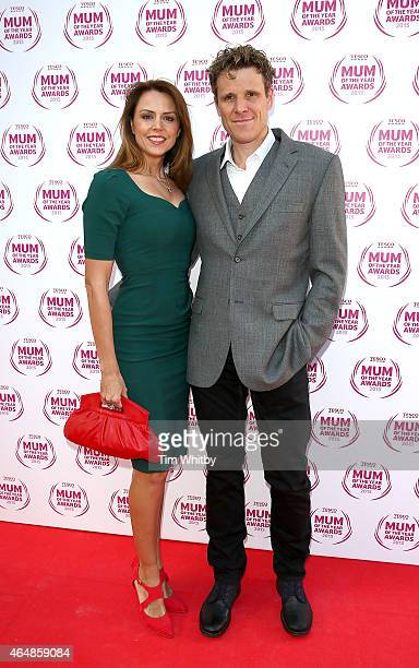 Beverley Turner and James Cracknell attend the Tesco Mum of the Year Awards at The Savoy Hotel on March 1 2015 in London England