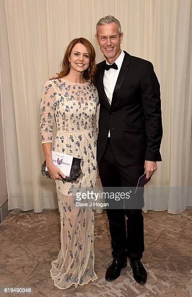 Beverley Turner and Mark Foster attend the Daily Mirror Pride of Britain Awards in Partnership with TSB at The Grosvenor House Hotel on October 31...
