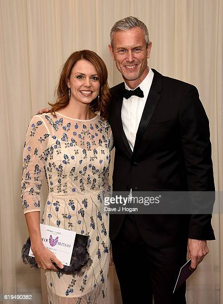 Beverley Turner and Mark Foster attend the Daily Mirror Pride of Britain Awards in Partnership with TSB at The Grosvenor House Hotel on October 31,...