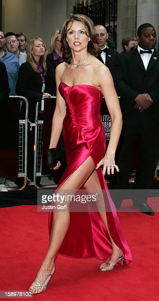 Beverley Turner Attends The 2006 British Academy Television Awards At London'S Grosvenor House Hotel