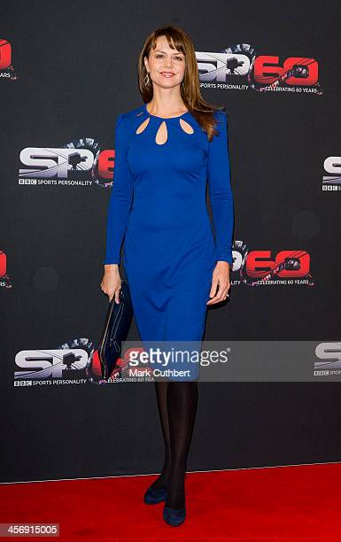 Beverley Turner attends the BBC Sports Personality of the Year Awards at First Direct Arena on December 15, 2013 in Leeds, England.
