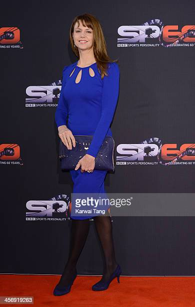 Beverley Turner attends the BBC Sports Personality of the Year awards at the First Direct Arena on December 15, 2013 in Leeds, England.