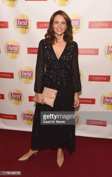Beverley Turner attends The Best Heroes Awards 2019 at The Bloomsbury Hotel on October 15, 2019 in London, England.