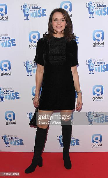 Beverley Turner attends the Global's Make Some Noise Night Gala at Supernova on November 24, 2016 in London, England.
