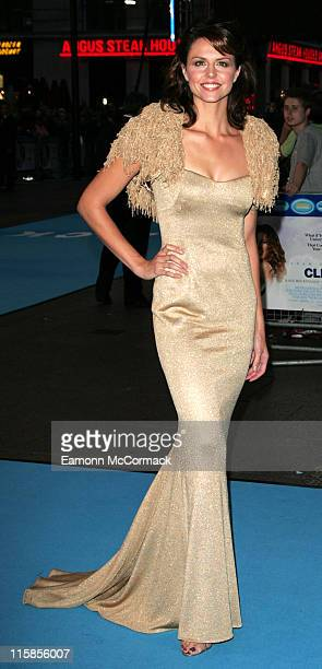 """Beverley Turner during """"Click"""" London Premiere - Arrivals at Leicester Square in London, Great Britain."""