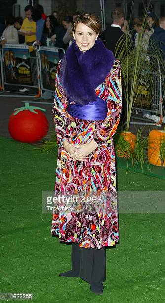 """Beverley Turner during """"Wallace & Gromit: The Curse of the Were-Rabbit"""" - London Charity Premiere at Odeon West End in London, Great Britain."""