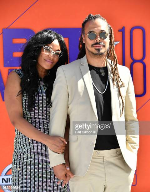 Beverly Bond attends the 2018 BET Awards at Microsoft Theater on June 24 2018 in Los Angeles California