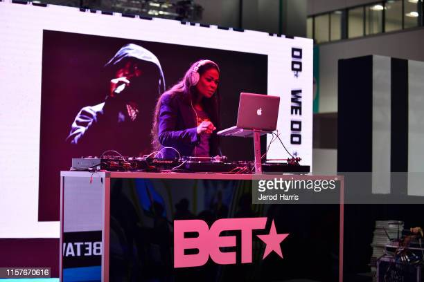 Beverly Bond DJs at World Of BET during the BET Experience Fan Fest at Los Angeles Convention Center on June 22 2019 in Los Angeles California