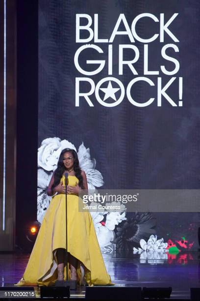 Beverly Bond speaks onstage at Black Girls Rock 2019 Hosted By Niecy Nash at NJPAC on August 25 2019 in Newark New Jersey