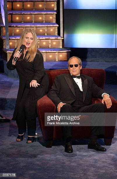 Beverly D'Angelo and Chevy Chase during The New York Friars Club Roast of Chevy Chase presented by Comedy Central at the New York Hilton in New York...