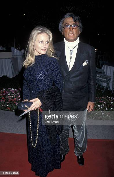 Beverly D'Angelo and Robert Evans during Eye For An Eye Los Angeles Premiere Benefiting Natural Neurofibromatosis at Paramount Studios in Hollywood...