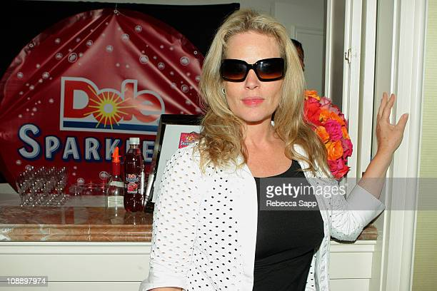 Beverly D'Angelo at Dole Sparklers during HBO Luxury Lounge Day 1 at Peninsula Hotel in Beverly Hills California United States
